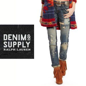 RL Denim Tompkins Skinny Jeans - Size 26